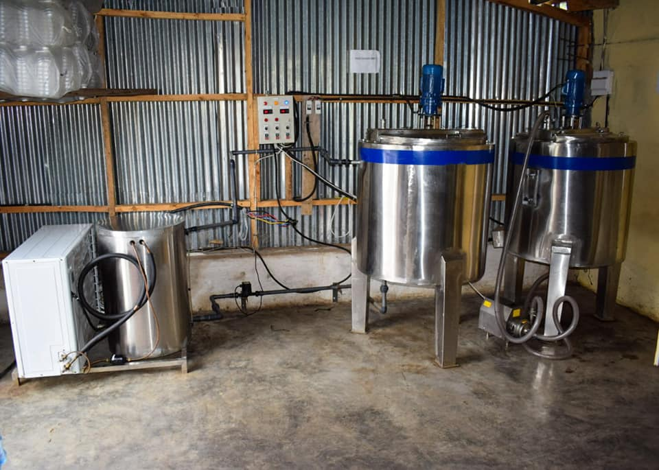 Free milk cooling systems for Nakuru dairy farmers
