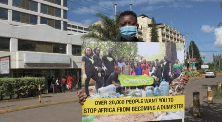 Over 20,000 Africans Implore CS Maina to reject the  Kenya-US plastic deal