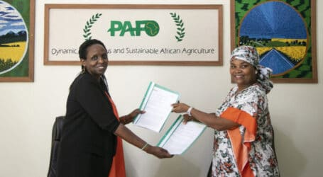 PAFO and AGRA sign deal to support African smallholder farmers